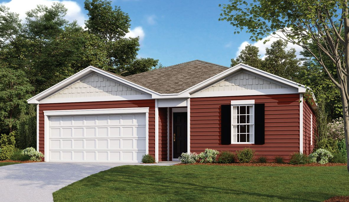 Exterior featured in the FREEPORT By D.R. Horton in Dover, DE