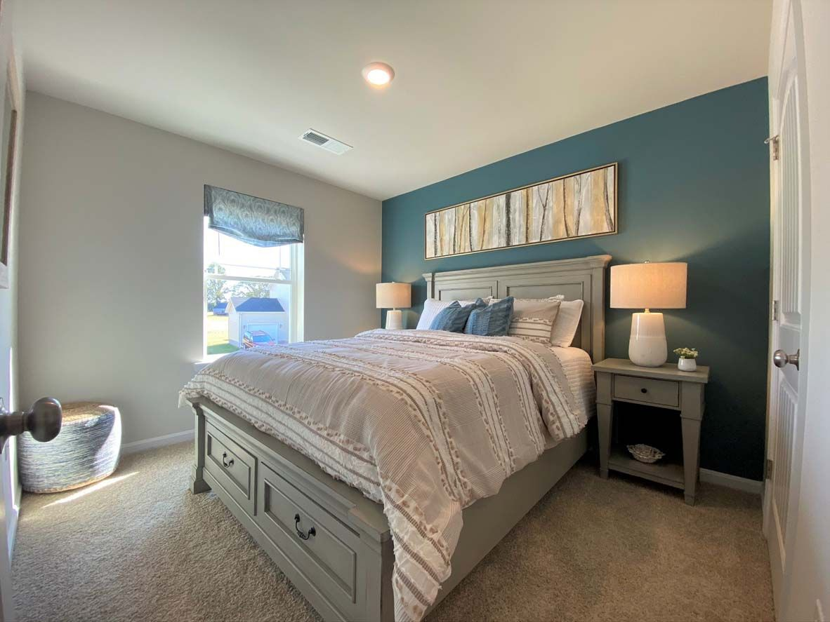 Bedroom featured in the GLENDALE By D.R. Horton in Ocean City, MD