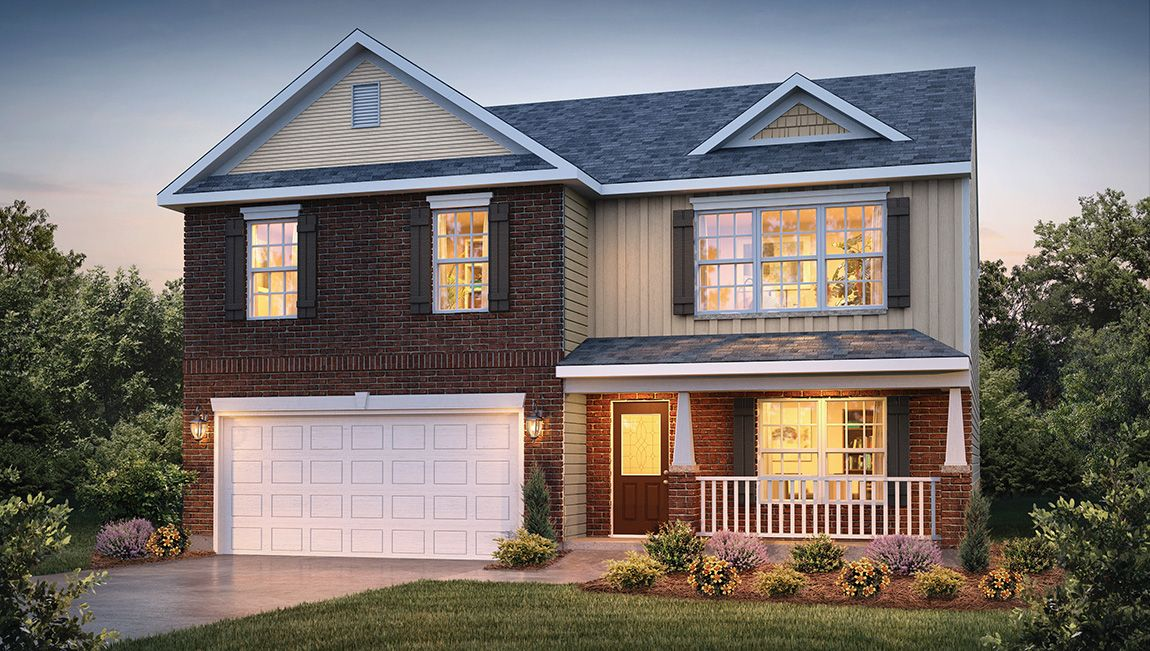 Exterior featured in the Charleston By D.R. Horton in Jacksonville, NC