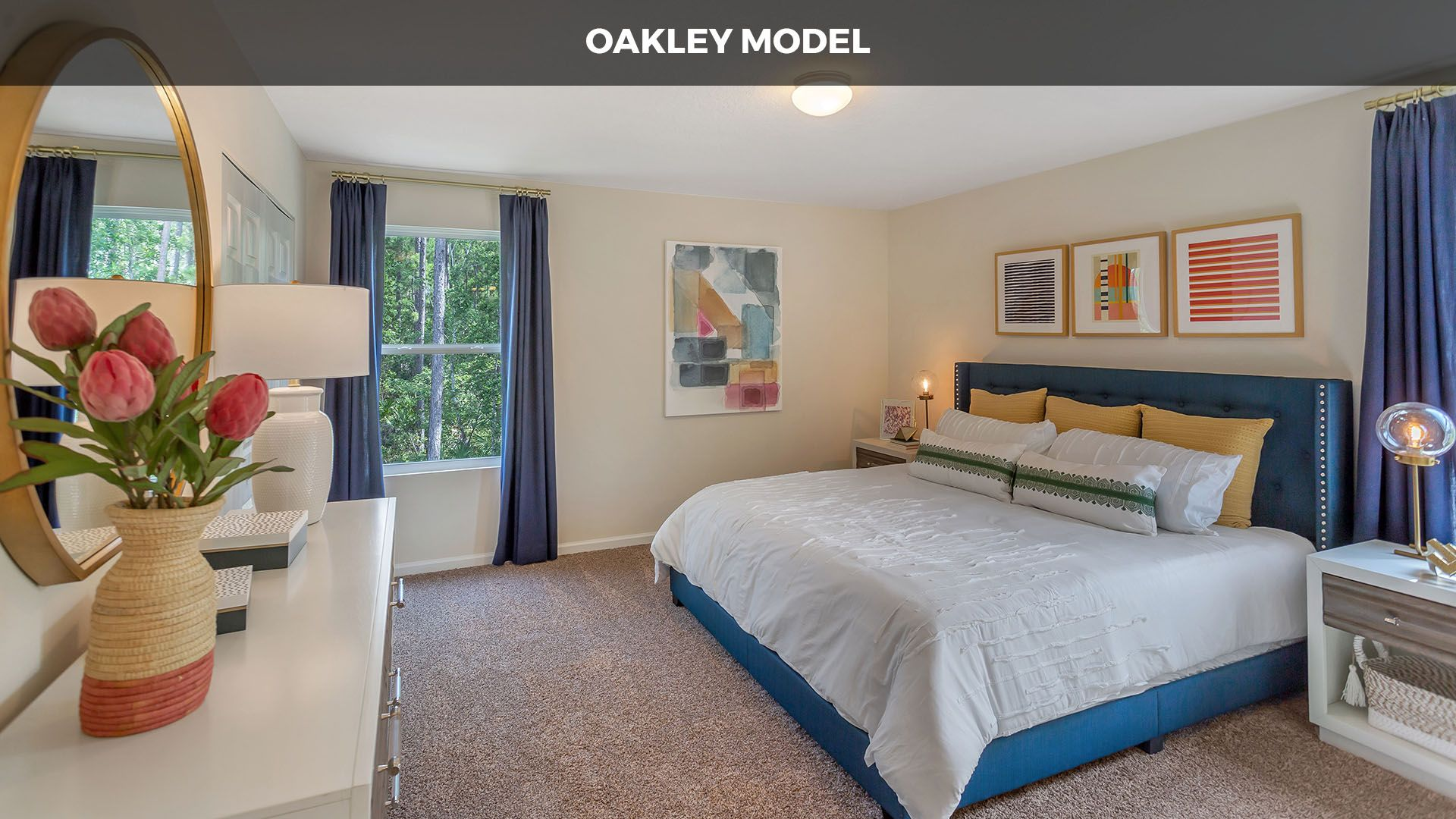 Bedroom featured in the OAKLEY By D.R. Horton in Jacksonville-St. Augustine, FL