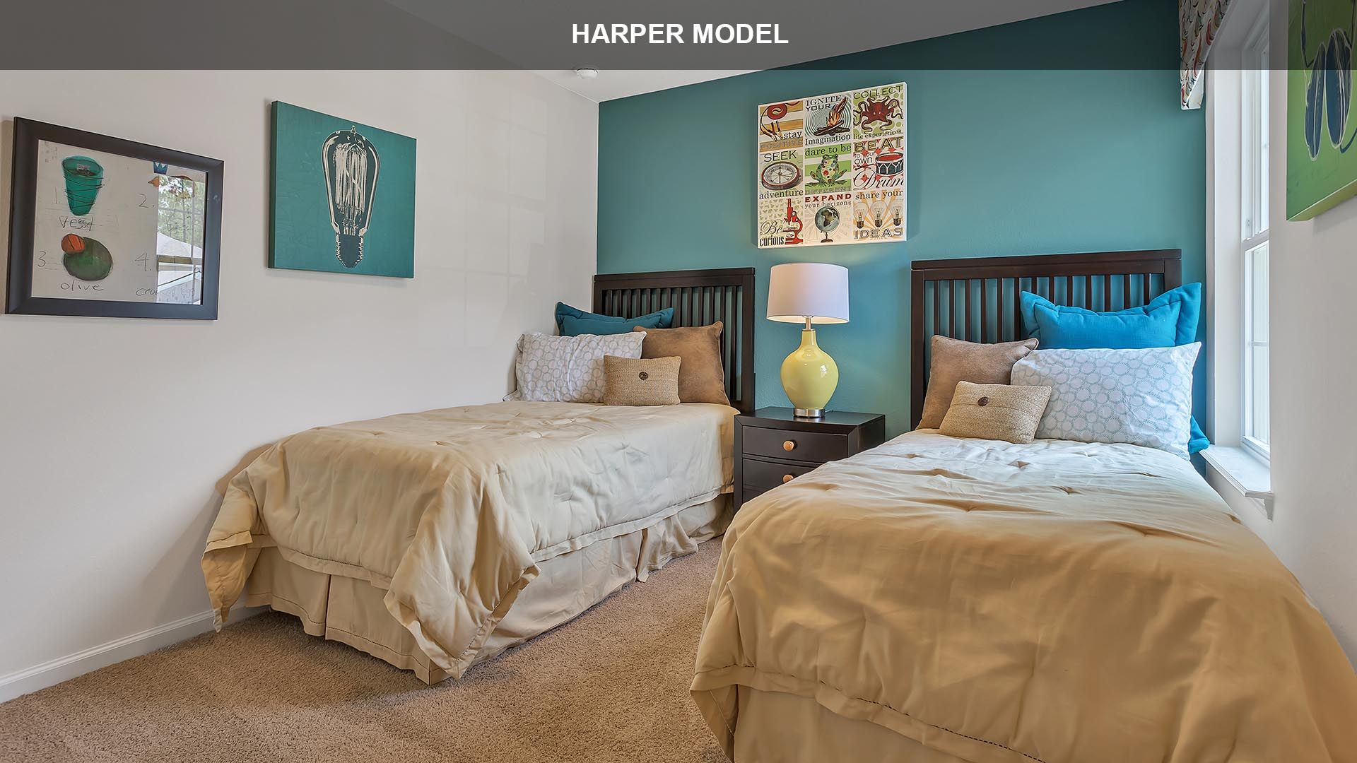 Bedroom featured in the HARPER By D.R. Horton in Jacksonville-St. Augustine, FL