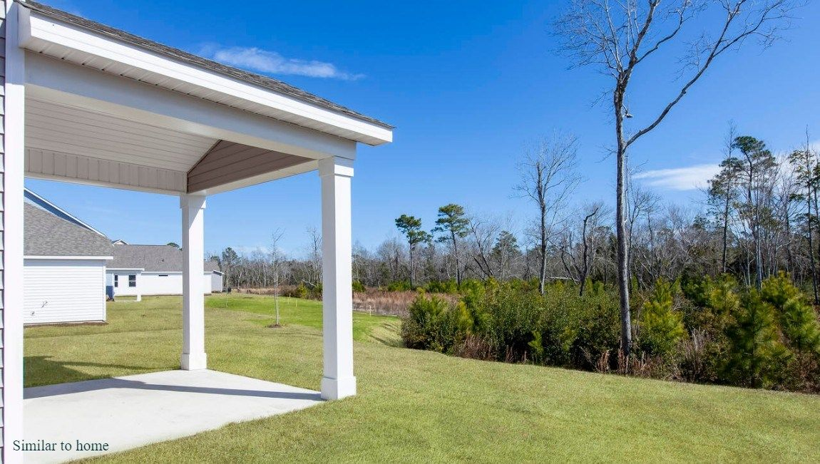 Exterior featured in the FORRESTER By D.R. Horton in Jacksonville, NC