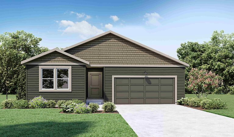 Exterior featured in the CALI By D.R. Horton in Spokane-Couer d Alene, WA