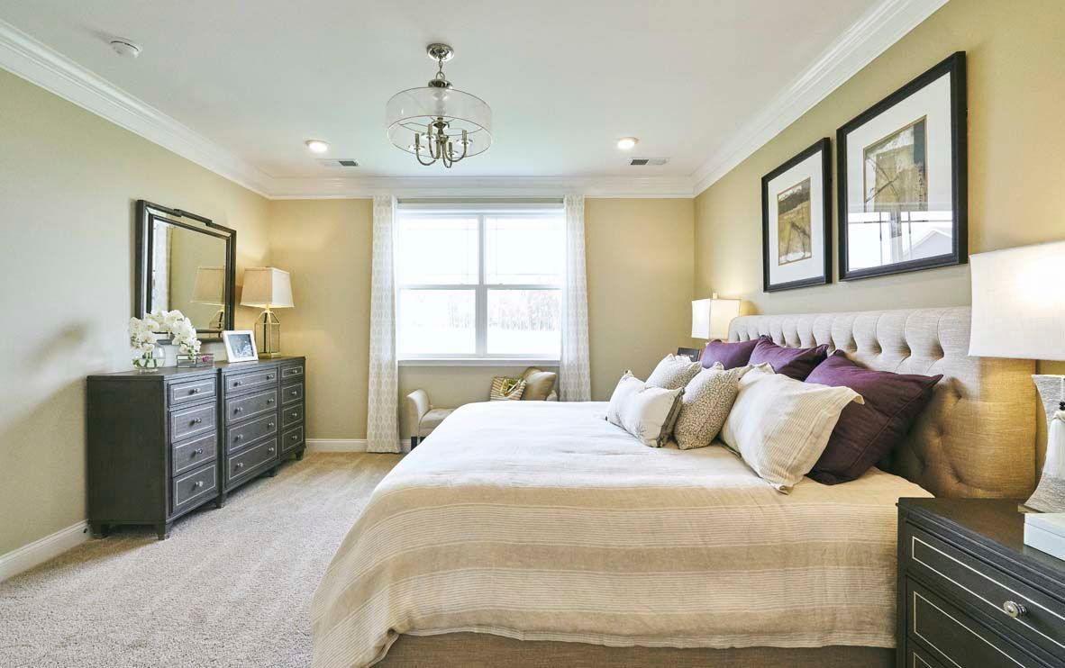 Bedroom featured in the AMELIA By D.R. Horton in Dover, DE