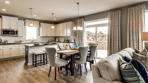 Kitchen-in-The Jordan-at-Clearwater Cove-in-Hugo