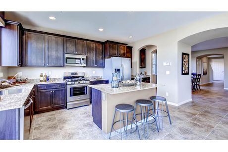 Kitchen-in-2988 Plan-at-Expressions-in-North Las Vegas