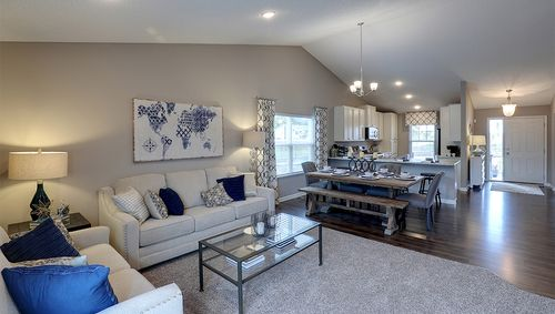 Greatroom-and-Dining-in-Rushmore-at-The Cove at Northwoods Park-in-Brooklyn Park