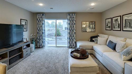 Media-Room-in-Rushmore-at-Copper Ridge Raised Ranch Homes-in-Woodbury