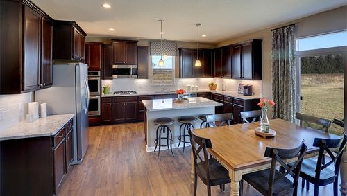 Kitchen-in-The Jordan-at-Kingston Fields-in-Cottage Grove