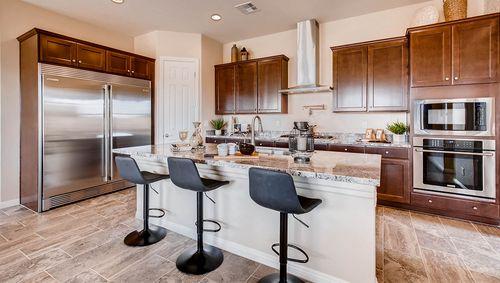 Kitchen-in-2800 Plan-at-Villas at Pine Ridge-in-Las Vegas
