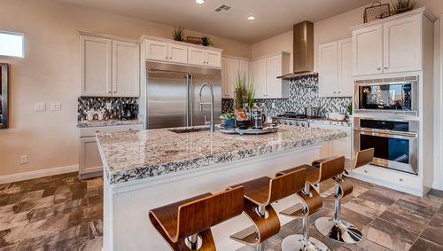 Kitchen-in-2500 Plan-at-Estates at Elkhorn Ridge-in-Las Vegas
