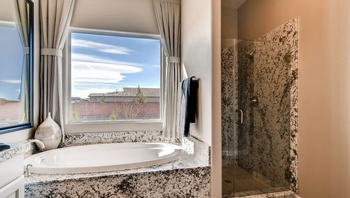 Bathroom-in-2500 Plan-at-Estates at Elkhorn Ridge-in-Las Vegas