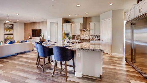 Kitchen-in-4230 Plan-at-Estates at Elkhorn Ridge-in-Las Vegas