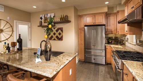 Kitchen-in-Residence 2-at-Contempo at Centre Pointe-in-Milpitas