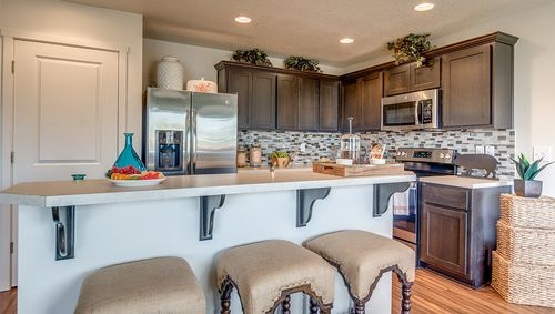 Kitchen-in-Garnet 3714-at-The Orchards at Abbey Creek-in-Portland