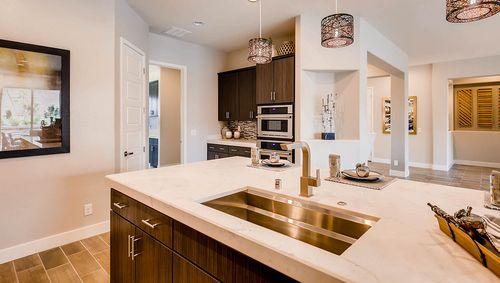 Kitchen-in-3035 Plan-at-Estates at Grand Canyon-in-Las Vegas