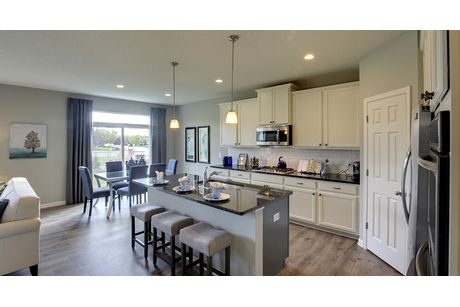 Kitchen-in-The Harrison-at-Kingston Fields-in-Cottage Grove