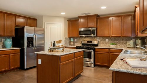 Kitchen-in-Stratton-at-Arbor Trail-in-Visalia