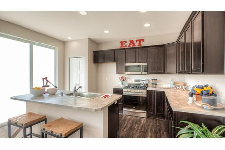 Kitchen-in-Durango-at-Cle Elum Pines-in-Cle Elum