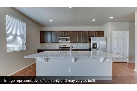 Kitchen-in-Flora-at-Crystal Valley-in-Castle Rock