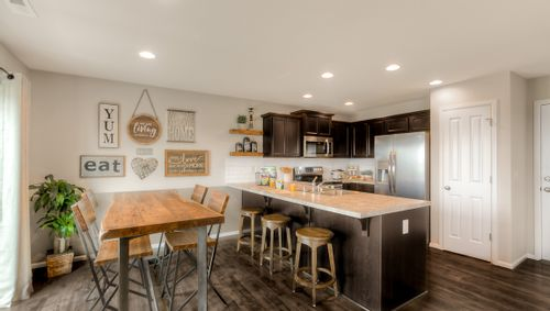 Kitchen-in-Carson-at-Cle Elum Pines-in-Cle Elum