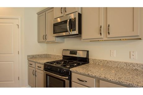 Kitchen-in-Iberville-at-Meridian at Lakes of Cane Bay-in-Summerville