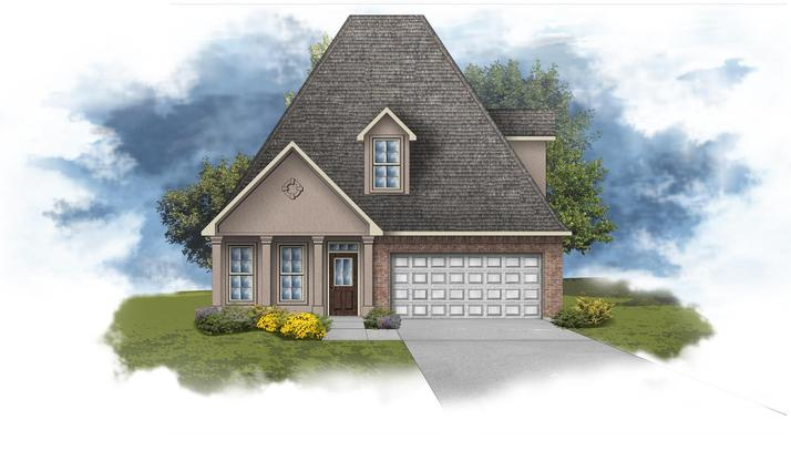 Canna III A - Open 2 Story Floor Plan - DSLD Homes
