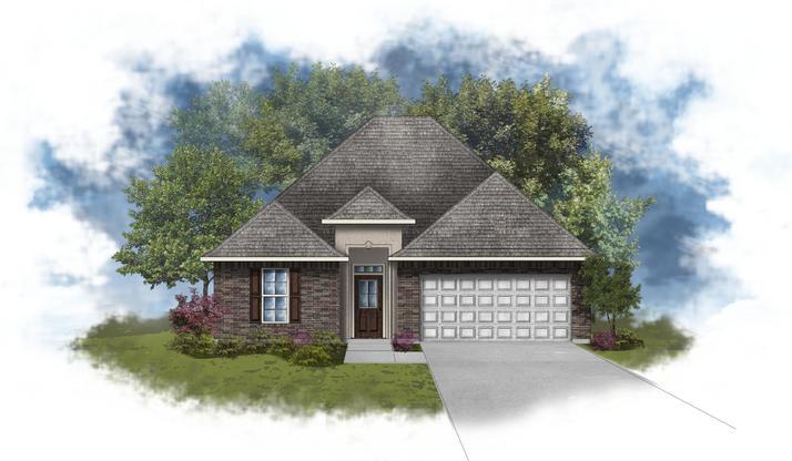 Lavender IV A - Open and Split Floor Plan - DSLD Homes