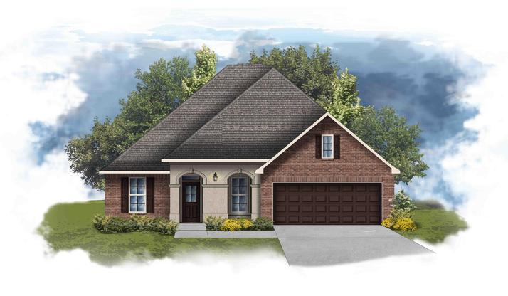 Hickory II A - Open Floor Plan - DSLD Homes