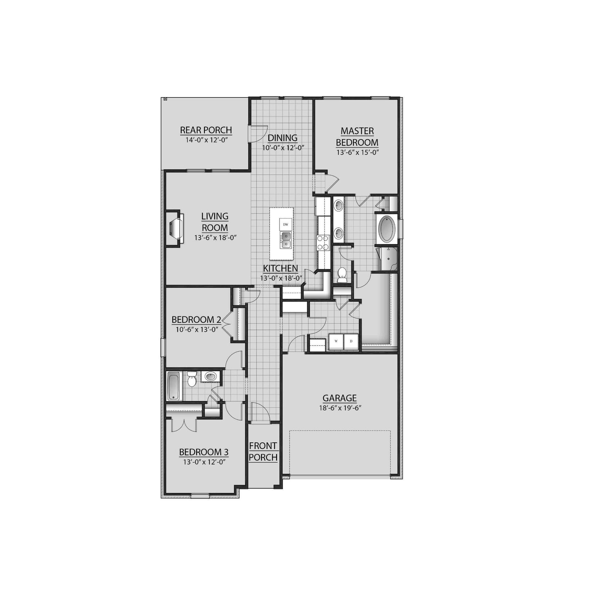 Toulouse Iii A Plan At Ashton Parc In Slidell La By Dsld Homes Louisiana