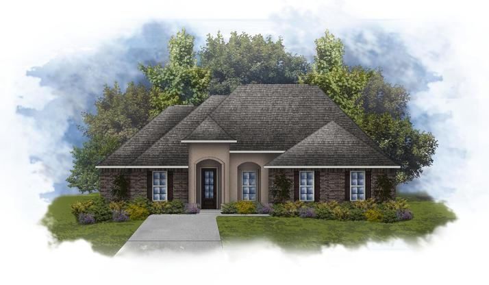 Klein II B Plan at Paige Place in Broussard, LA by DSLD ... on