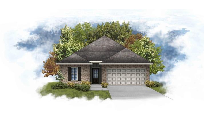 Preston IV G - Open Floor Plan - DSLD Homes