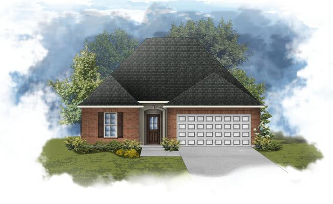 Chantilly III B - Open Floor Plan - DSLD Homes