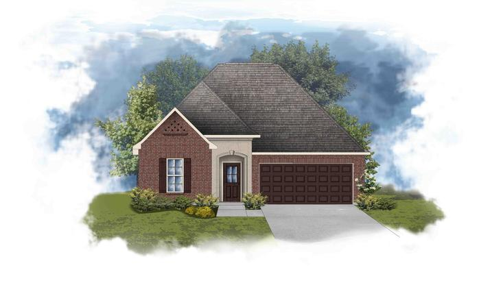 Townsend III A - Open and Split Floor Plan - DSLD Homes