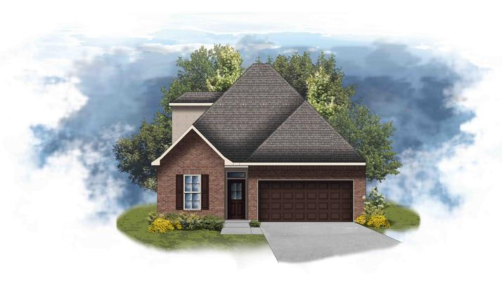 Colonne II A - Open and Two-Story Floor Plan - DSLD Homes