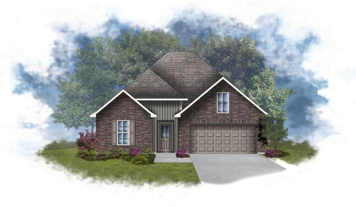 Liberty IV H - Open Floor Plan - DSLD Homes