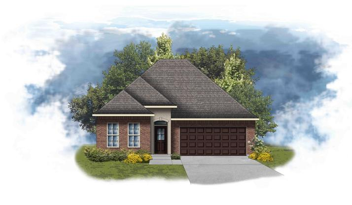 Orchid II A - Open and Split Floor Plan- DSLD Homes
