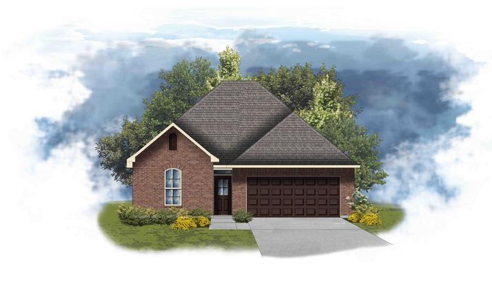 Azalea III A - Open Floor Plan - DSLD Homes