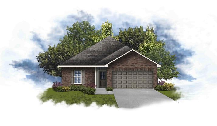 Princeton III A- Open and Split Floor Plan - DSLD Homes