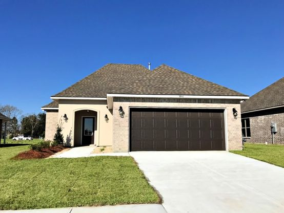 Front View - Grand Oaks Community - DSLD Homes Gonzales
