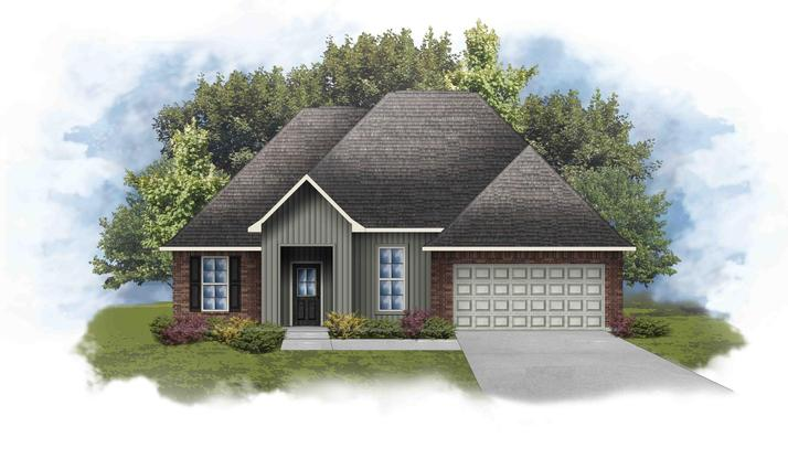 Rowland IV I - Open Floor Plan - DSLD Homes