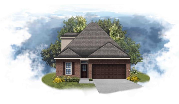 Colonne II B - Open Floor Plan - DSLD Homes