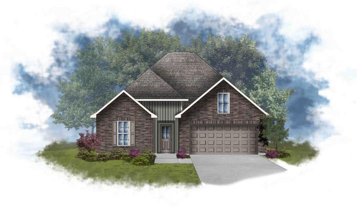 Liberty IV B - Open Floor Plan - DSLD Homes