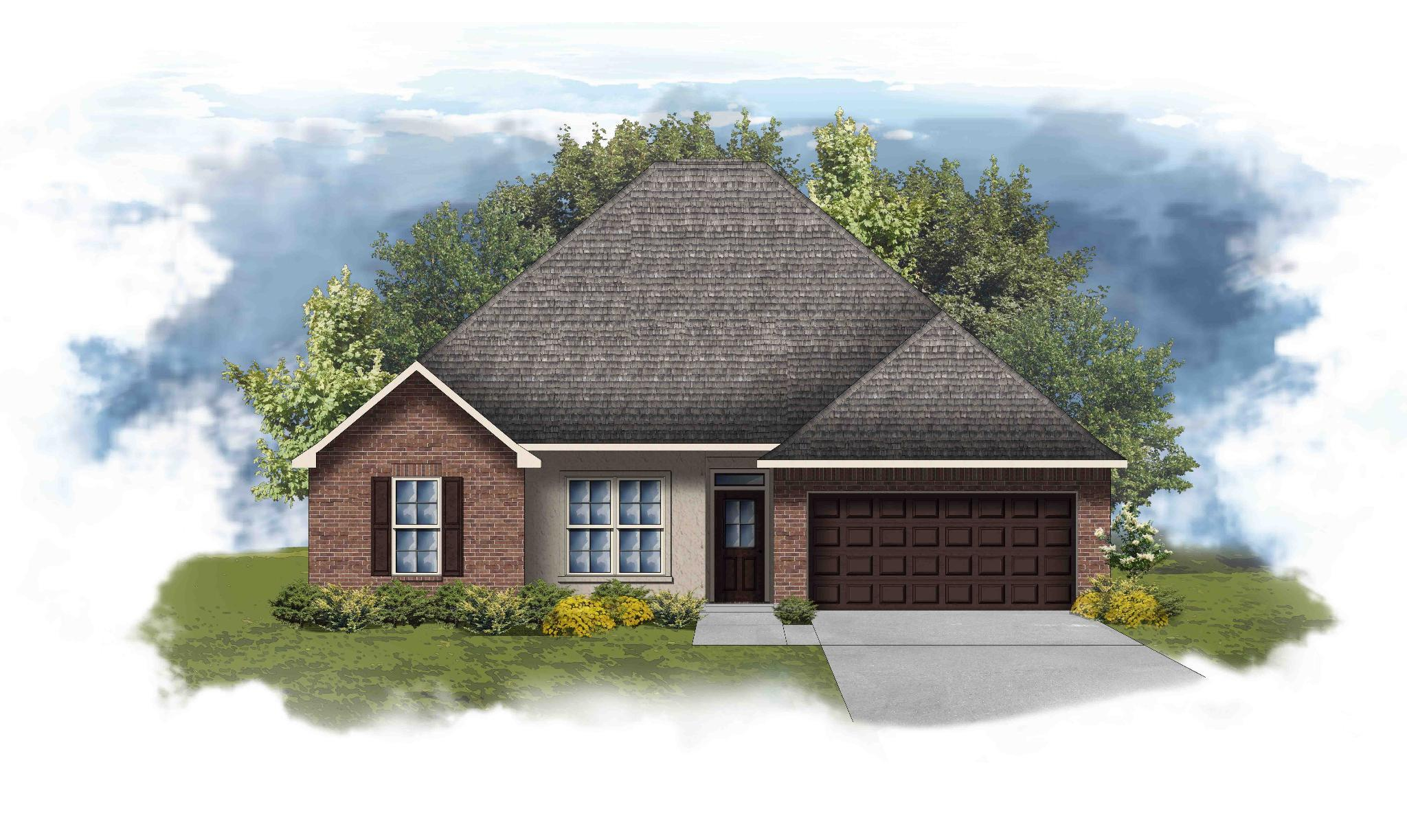 Exterior featured in the Mimosa II A By DSLD Homes - Louisiana in Lake Charles, LA