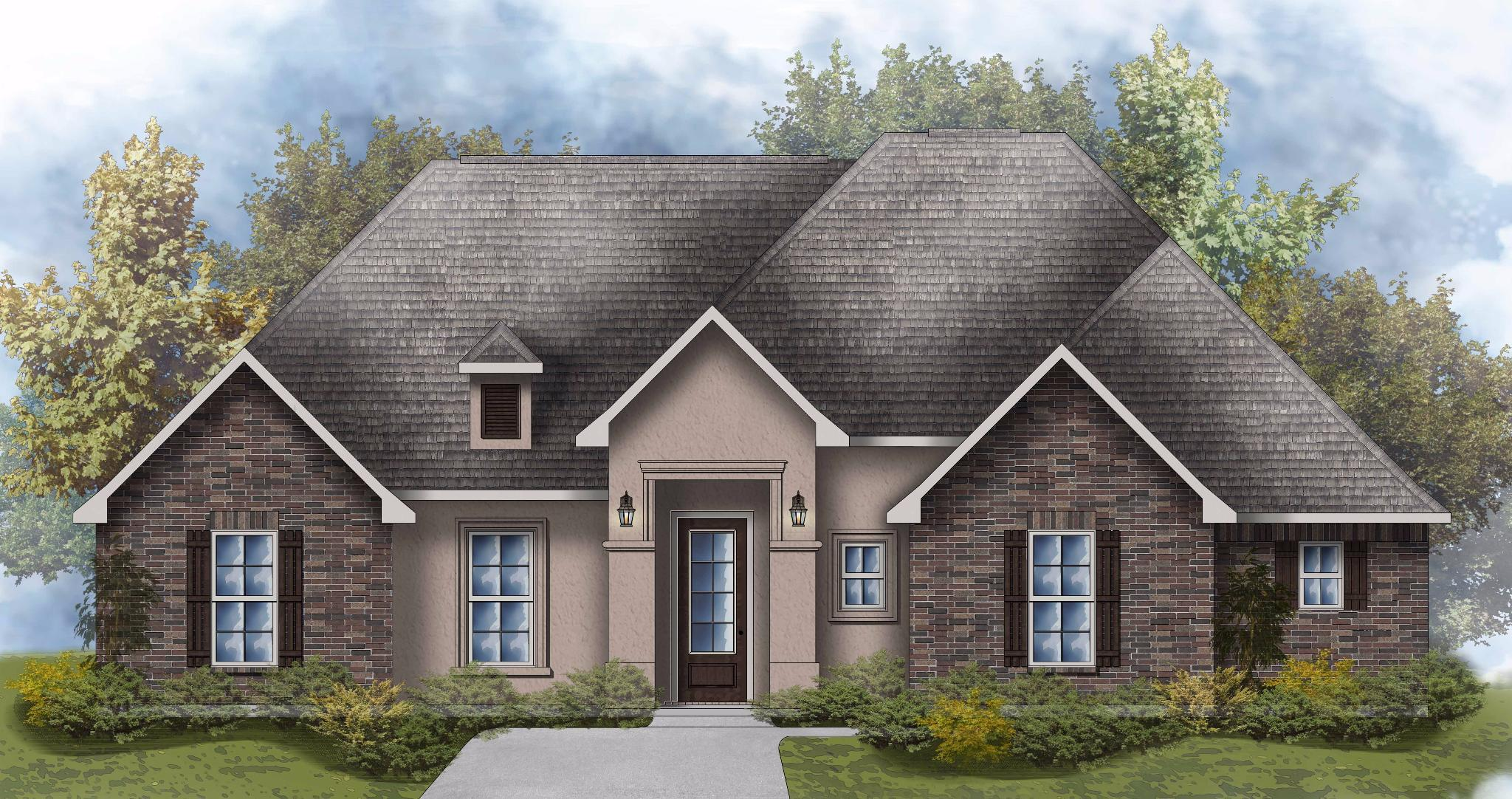 Exterior featured in the Cezanne III A By DSLD Homes - Louisiana in Shreveport-Bossier City, LA