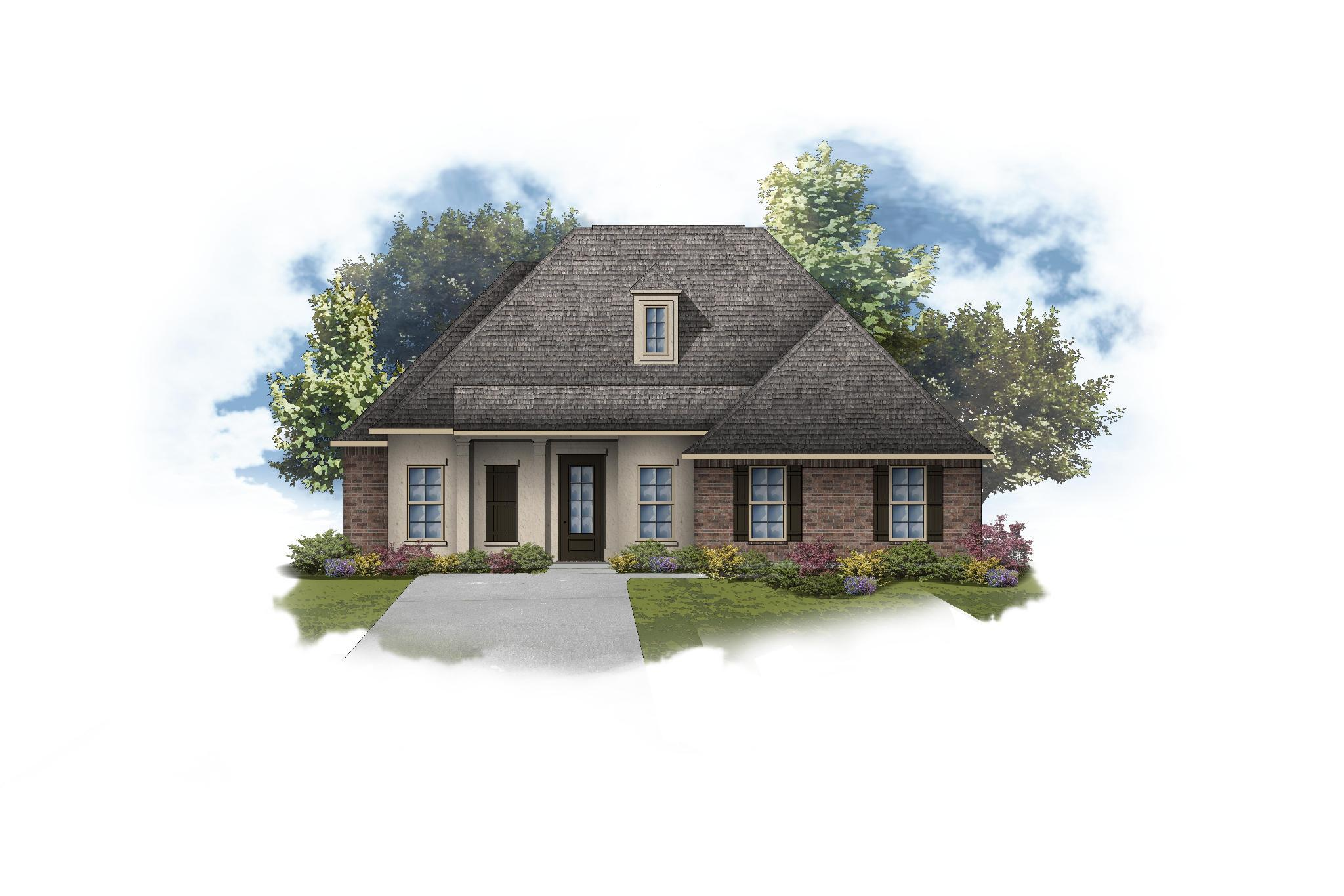 Exterior featured in the Henri II A By DSLD Homes - Louisiana in Lafayette, LA