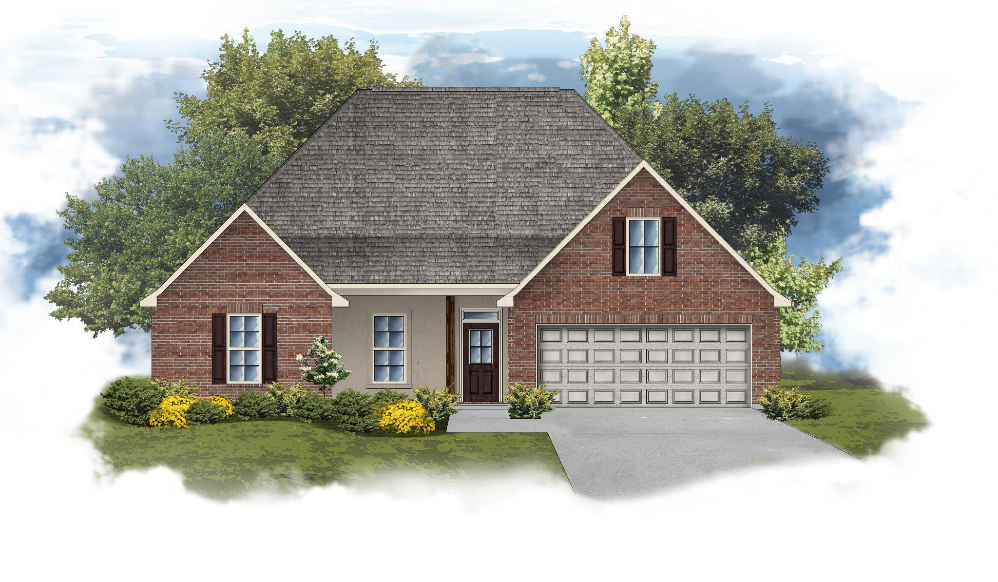 Exterior featured in the Camellia IV B By DSLD Homes - Louisiana in Monroe, LA