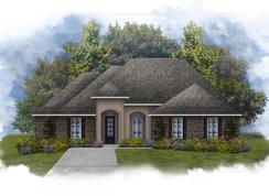 Klein II B - Fairview Gardens: Zachary, Louisiana - DSLD Homes - Louisiana