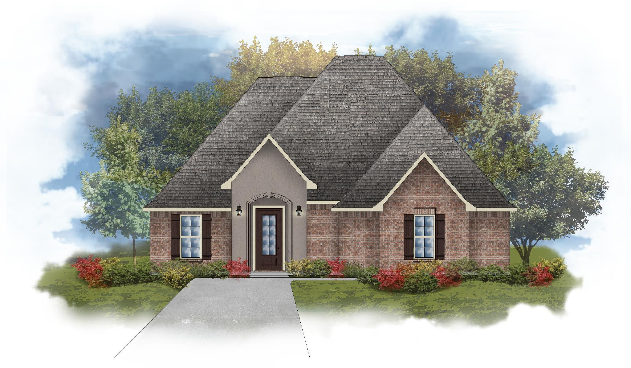 Exterior featured in the Lombardo III A By DSLD Homes - Louisiana in Monroe, LA