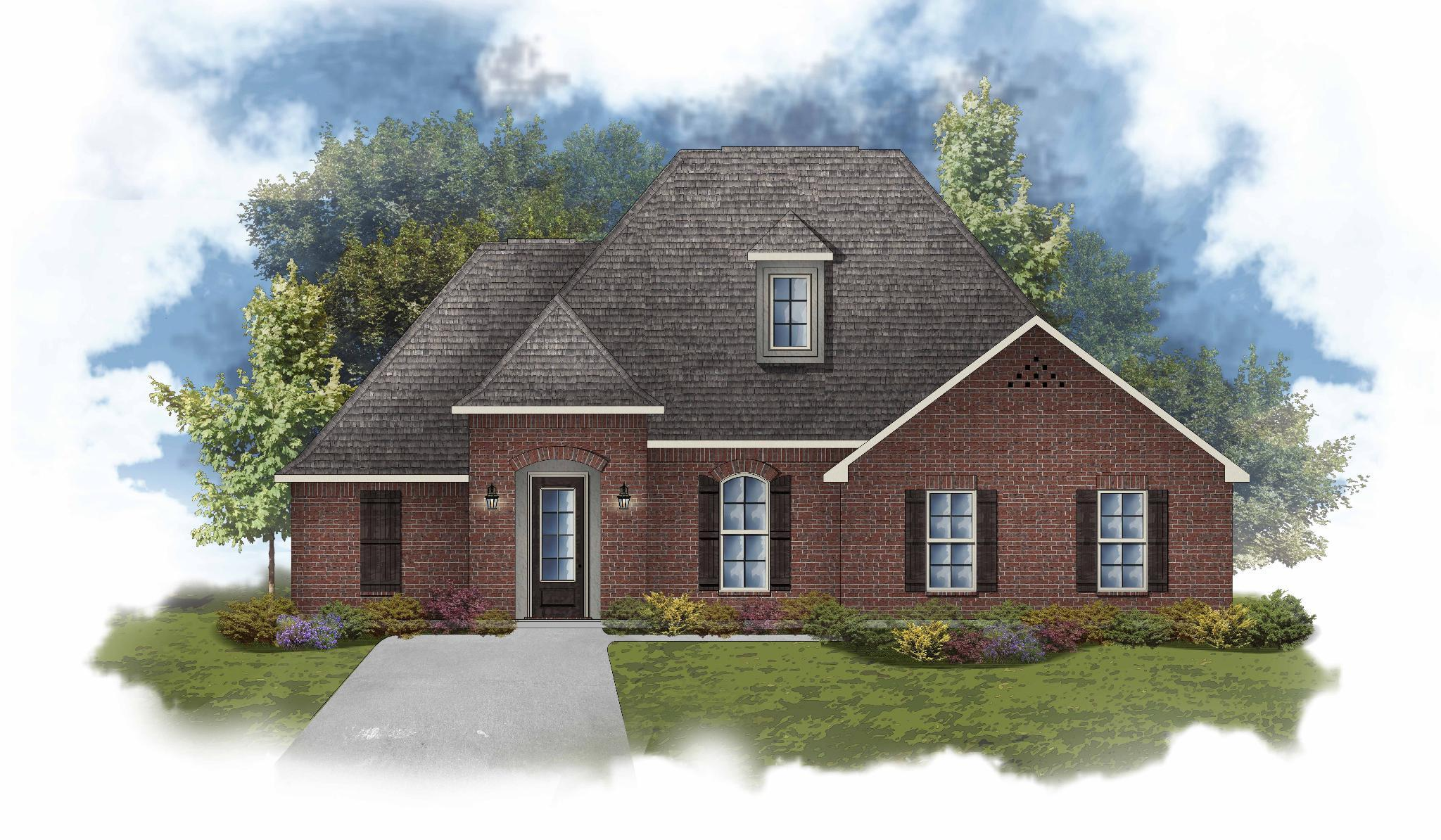 Exterior featured in the Cappello II B By DSLD Homes - Louisiana in Lafayette, LA
